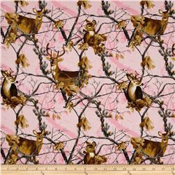 Realtree Deers Allover Pink
