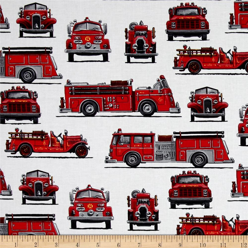 Fire Rescue II Firetrucks White