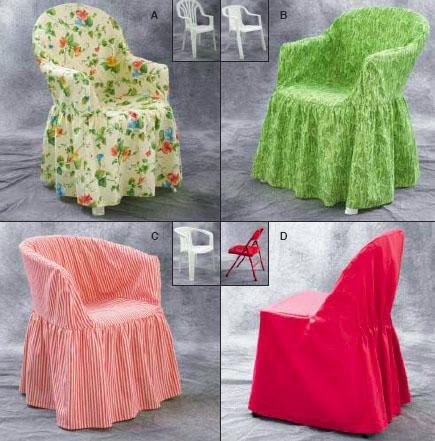Kwik Sew Chair Cover Pattern