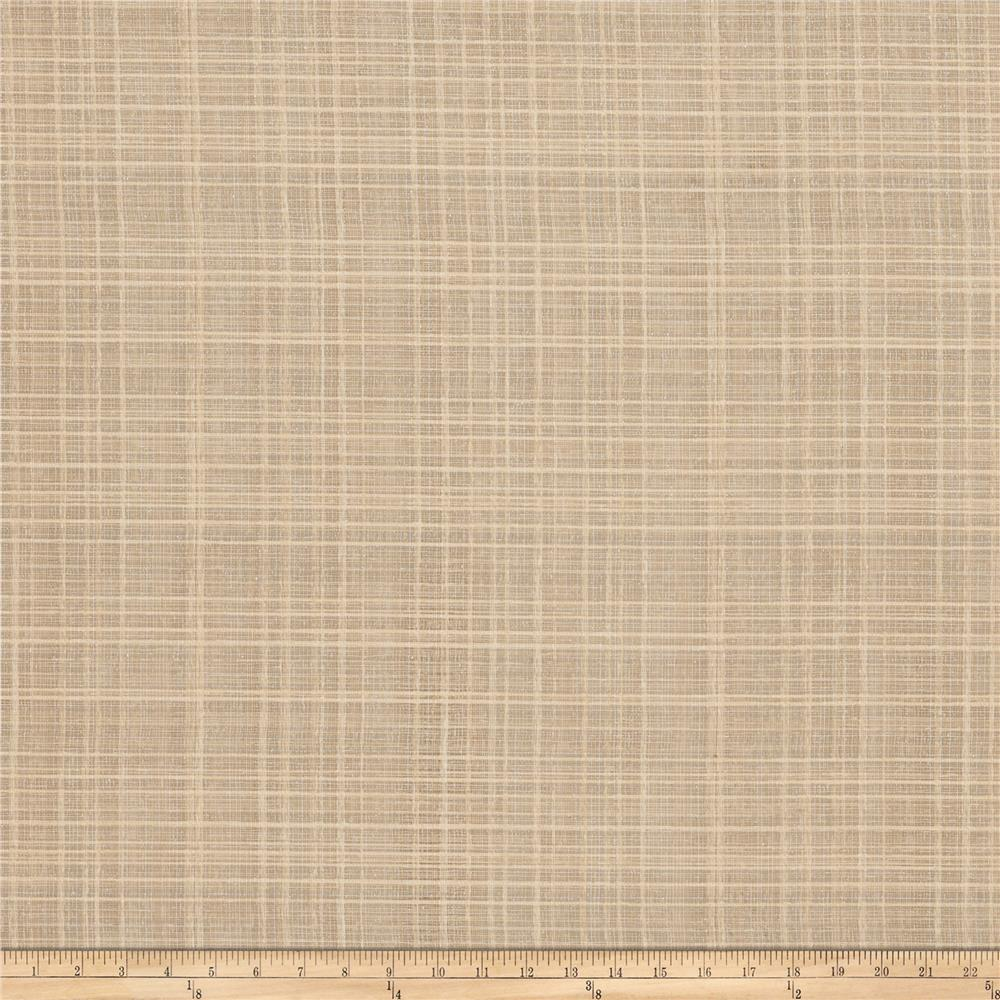 Fabricut tiana 118 sheer voile sandstone discount for Voile fabric