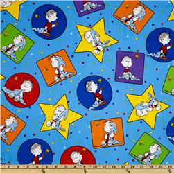 Peanuts-Project Linus Linus Patches Blue