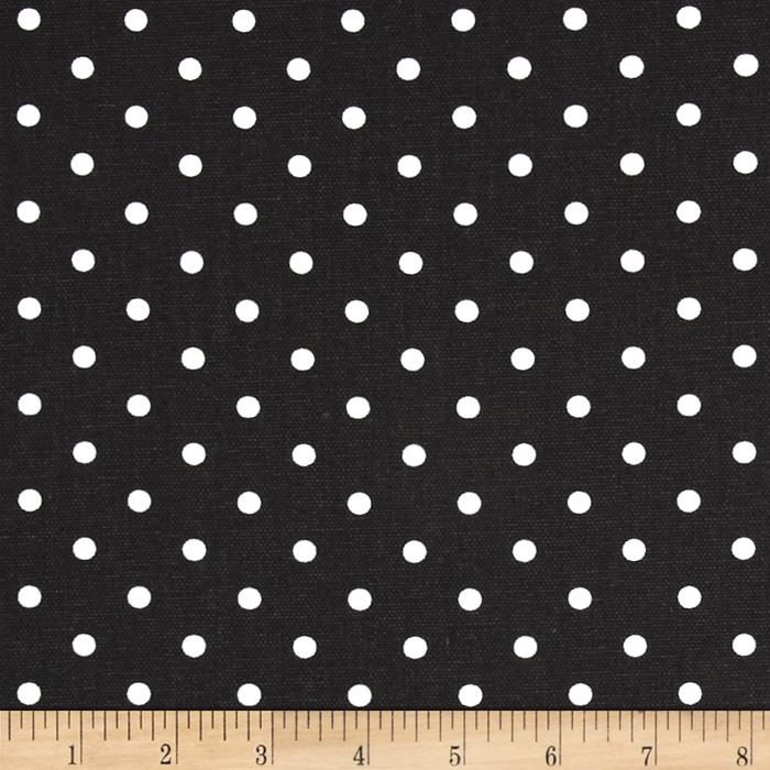 Premier Prints Mini Dots Black/White
