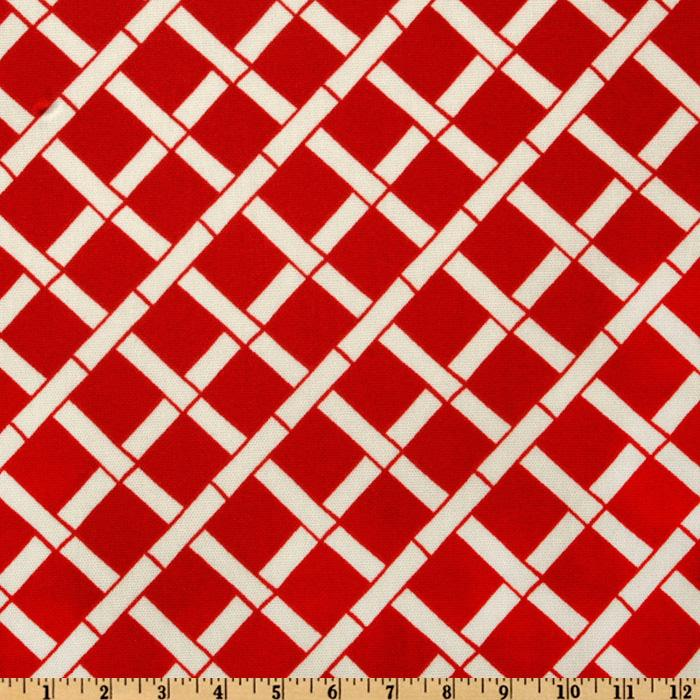 Premier Prints Indoor/Outdoor Cadence American Red