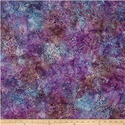 Batavian Batik Flower Field Purple