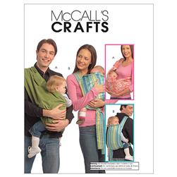 McCall's Baby Carriers Pattern M5678 Size OSZ