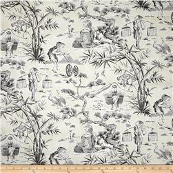 Waverly Haiku Toile Chintz Noir