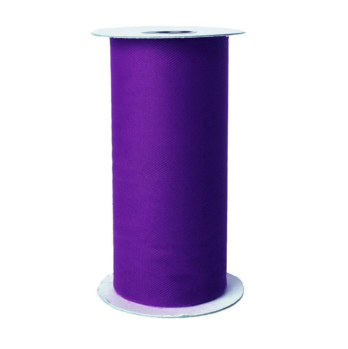 Tulle Spool Purple