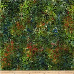 Kaufman Natural Formation Batiks Circles Meadow