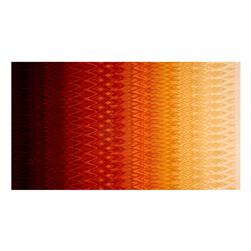 Radiant Gradients Ikat Ombre Orange