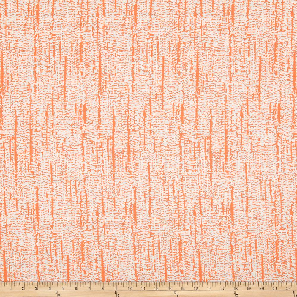 Robert Allen Sunbrella Distressed Tree Bark Tangerine