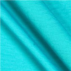 Soft Crush Crepe De Chine Pacific Blue
