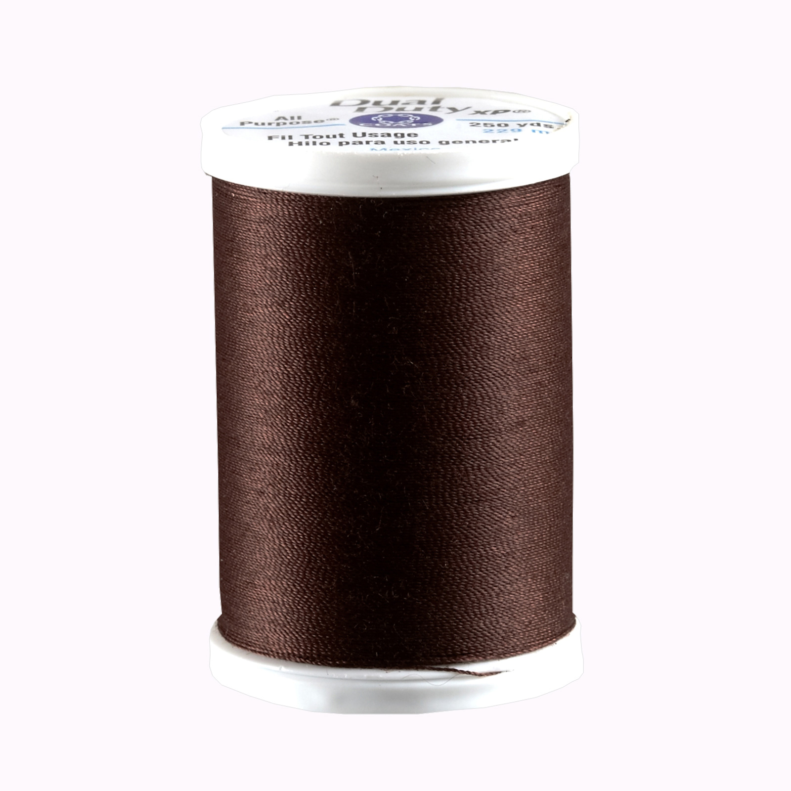 Coats & Clark Dual Duty XP 250yd Dark Brown