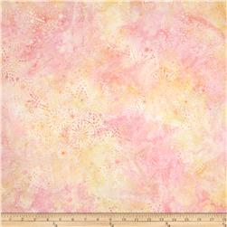 Batavian Batiks Starry Night Sweet Peach