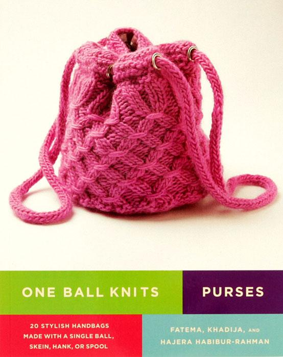 "Leisure Arts ""One Ball Knits Purses"" Book"