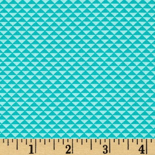 Hazel Triangles Teal