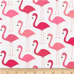 Urban Zoologie Flamingos White