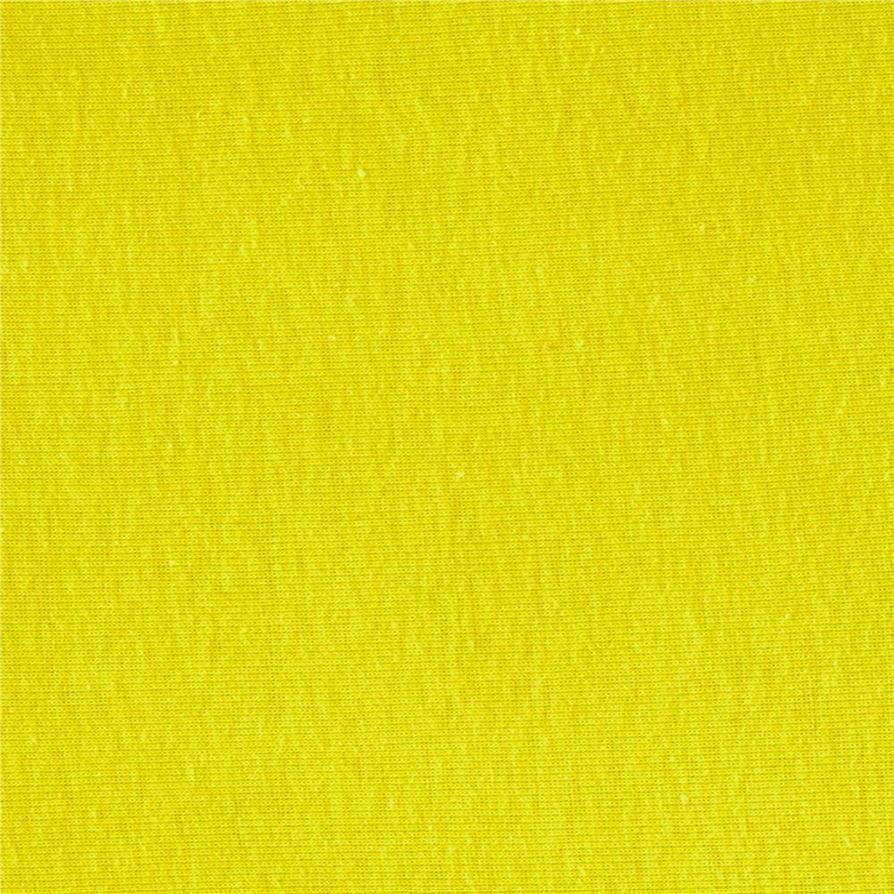 Baby Rib Knit Solid Bright Yellow