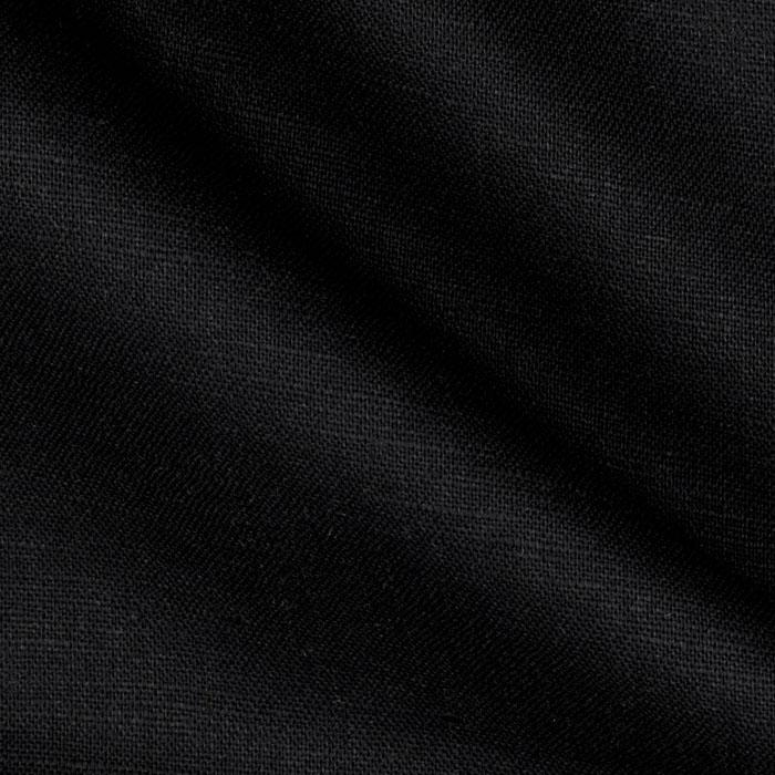 Kaufman Handkerchief Linen Blend Black Fabric By The Yard