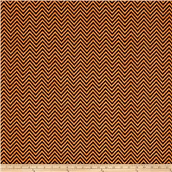 Come Sit A Spell Chevron Black/Orange