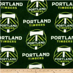 MLS Fleece Portland Timber Green