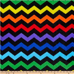 Winter Fleece Chevron Black
