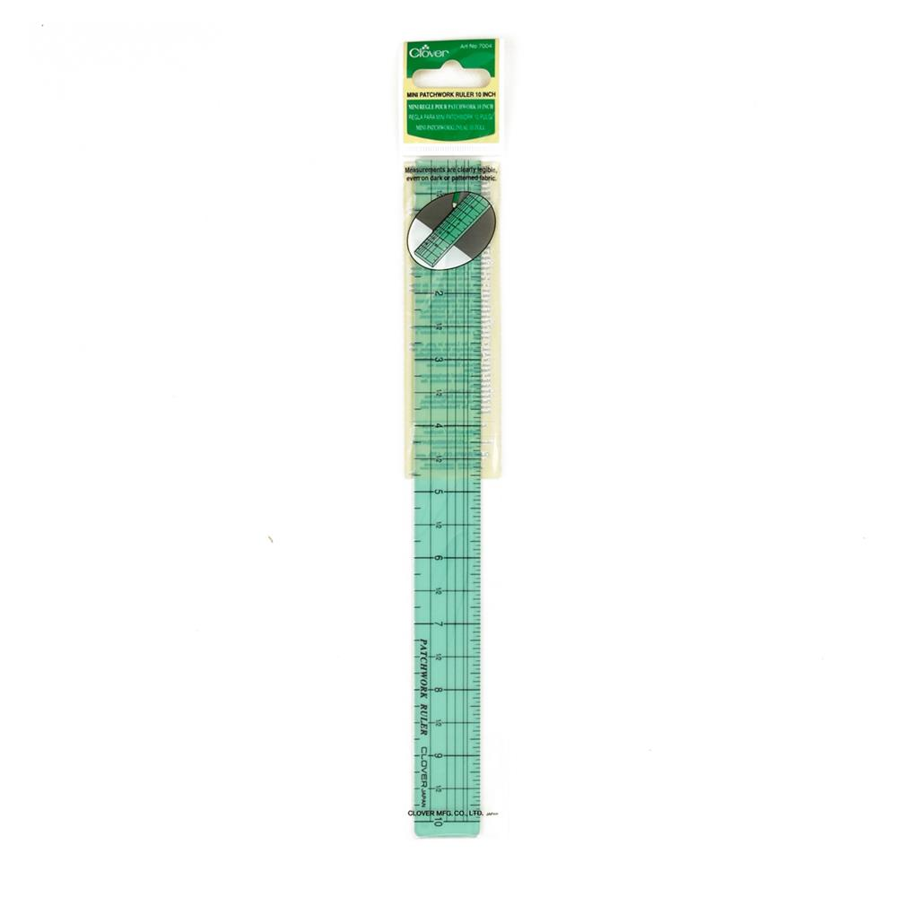 Clover Mini Patchwrk Ruler 10""