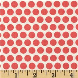 Birch Organic Mod Basics Dottie Two Coral