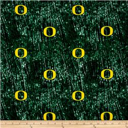 Collegiate Cotton Broadcloth University of Oregon Tie Dye