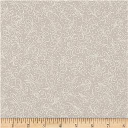 Grace Feather Scroll Grey