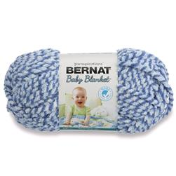 Bernat Baby Blanket  Yarn (47128) Blue Dream