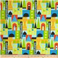 Michael Miller Soft Top Castle Blocks Multi