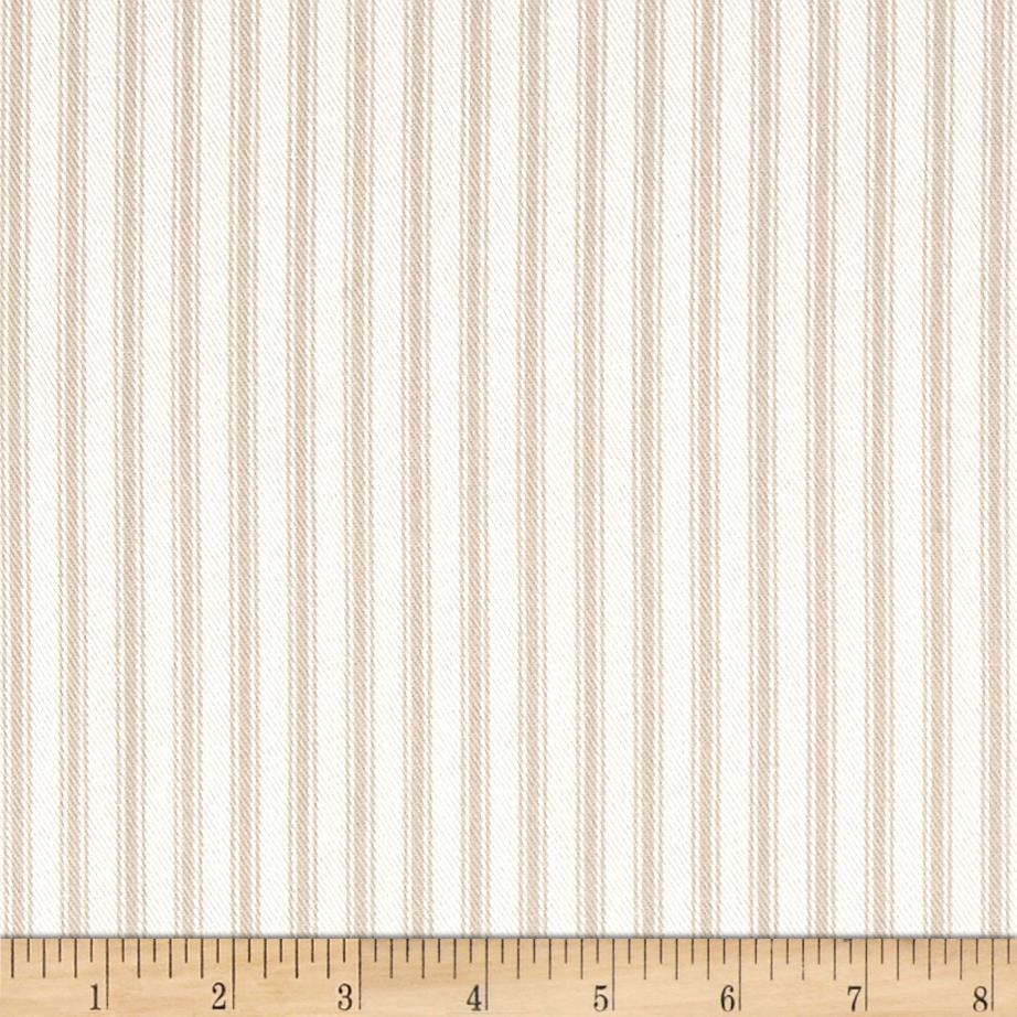 Waverly Classic Ticking Linen Fabric