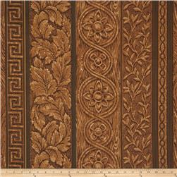Fabricut Wood Grain Dark Walnut