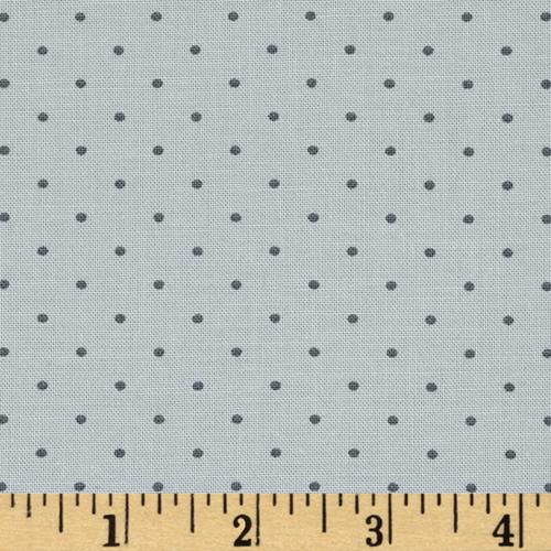 Moda Modern Background Ink Pindot Zen Grey