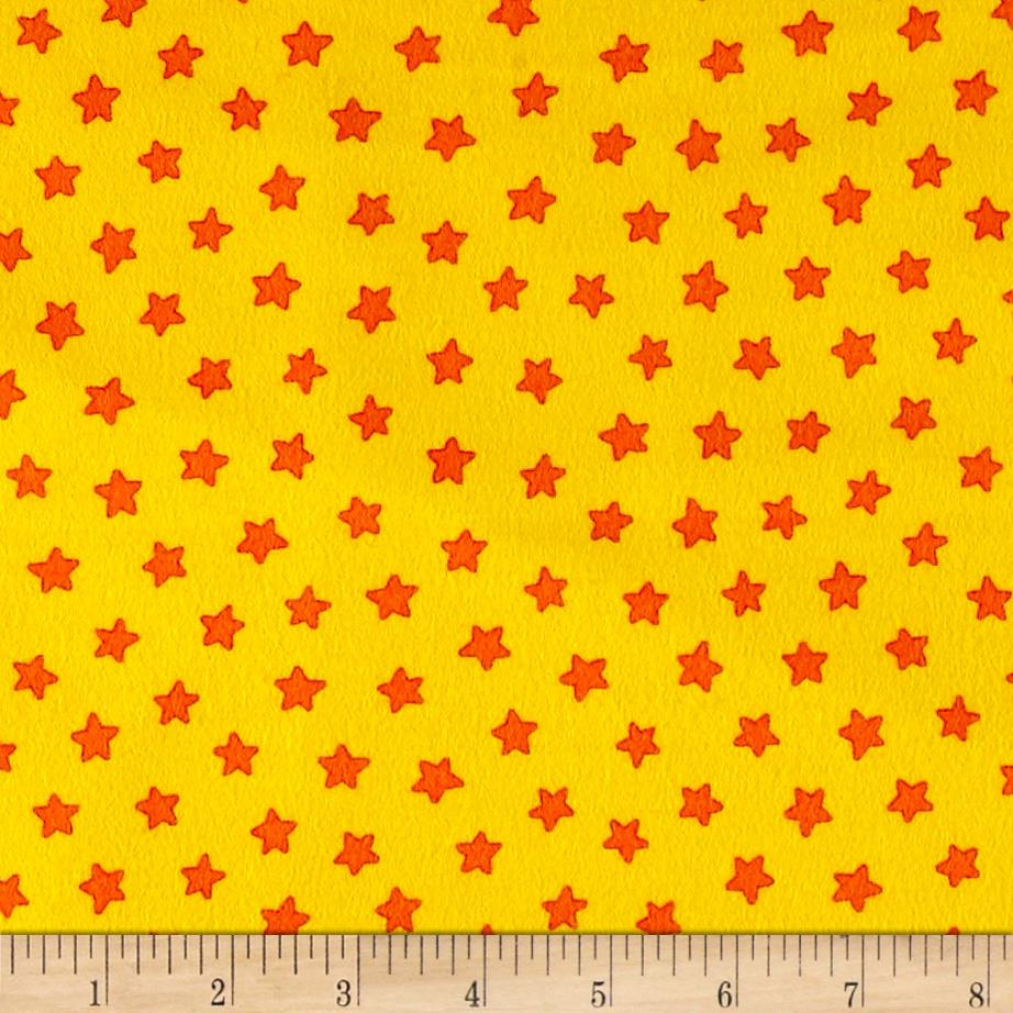 Pete The Cat Flannel Stars Yellow