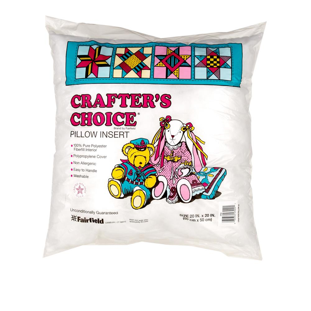 "Fairfield Crafter's Choice Pillow 20"" Square"