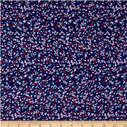 Designer Rayon Challis Party Abstract Multi