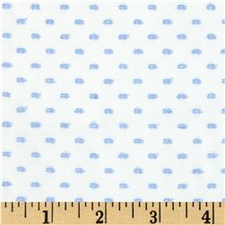 Imperial Old Fashioned Dotted Swiss Blue