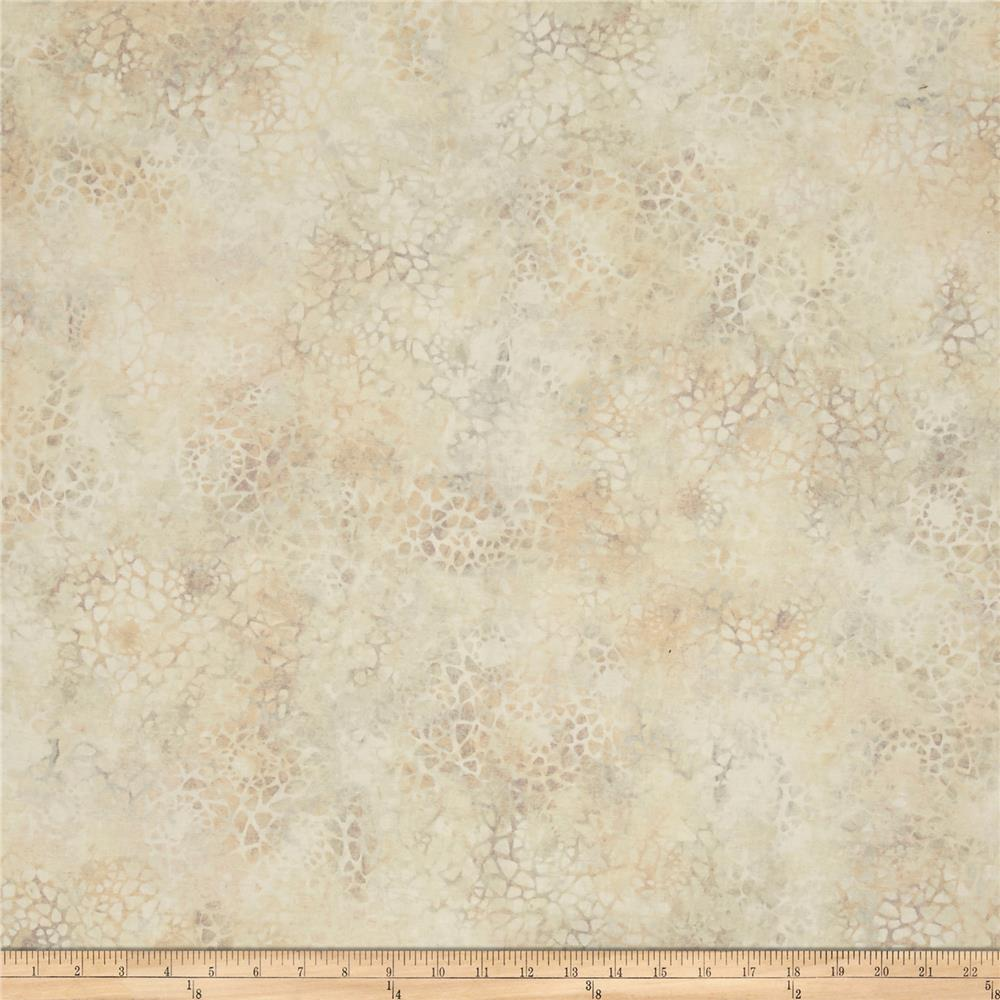 "Essentials 108"" Wide Back Mosaic Ivory/Grey"