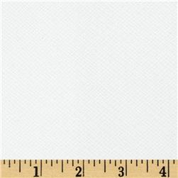 108'' Wide Quilt Backing Widescreen Grid Tonal White