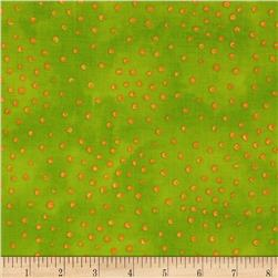 Laurel Burch Sea Spirits Bubbles Green Fabric