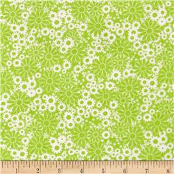 Baby Talk Bathtime Bubbles Lime Green/White
