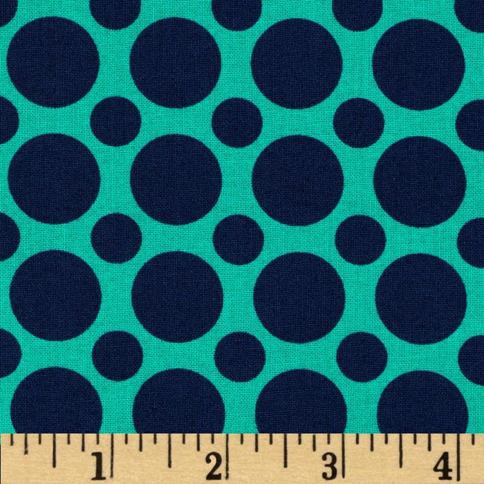 Kaufman Spot On Large Dot Nautical