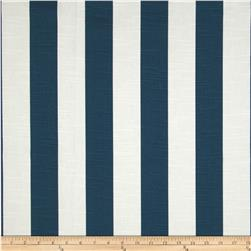 Premier Prints Premier Stripe Slub Navy Fabric
