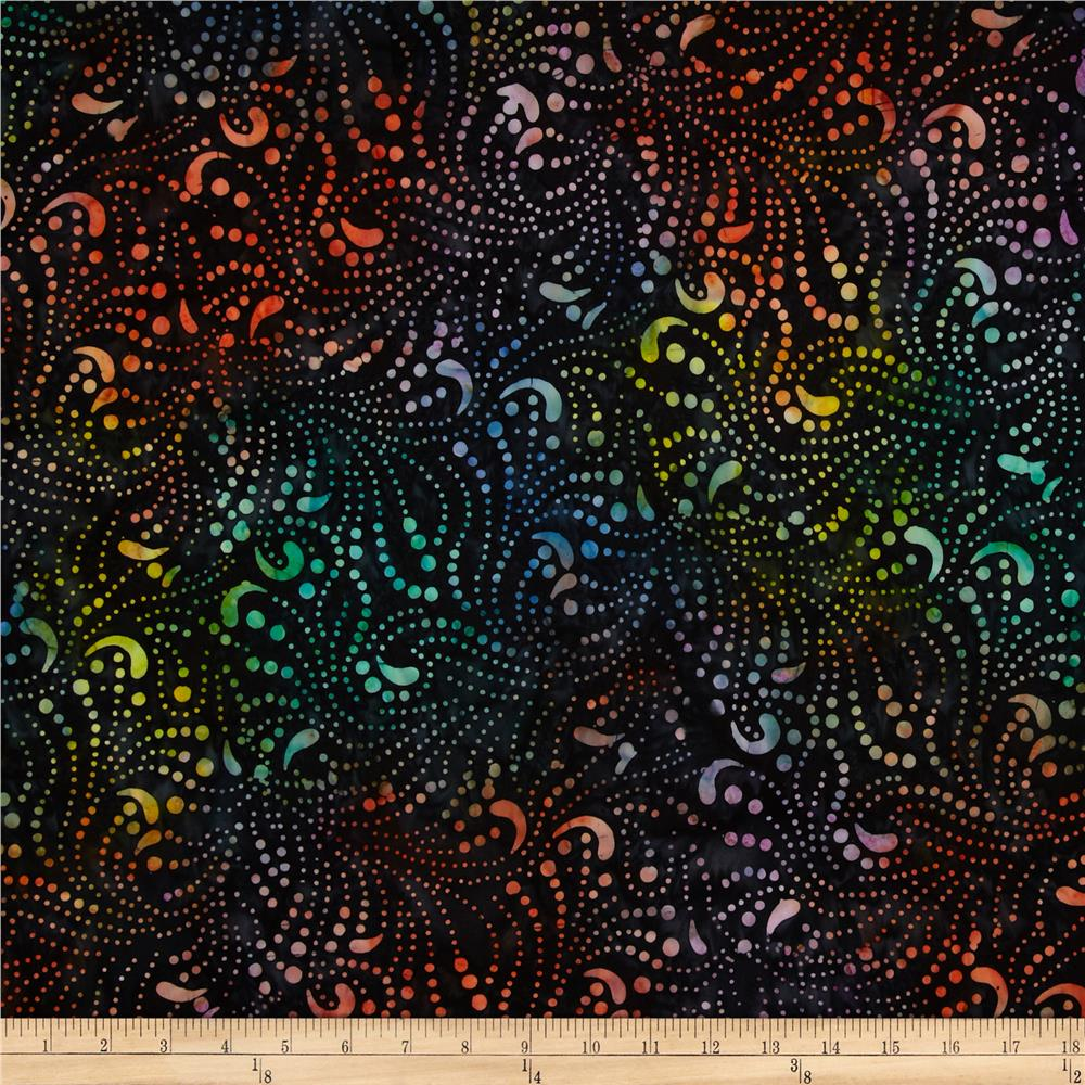 Timeless Treasures Tonga Batik Pashmina Stringing Lights Galaxy
