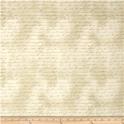 Longfellow Letters Cream