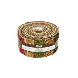Robert Kaufman Imperial Collection Vintage 2.5 In. Jelly Roll Multi