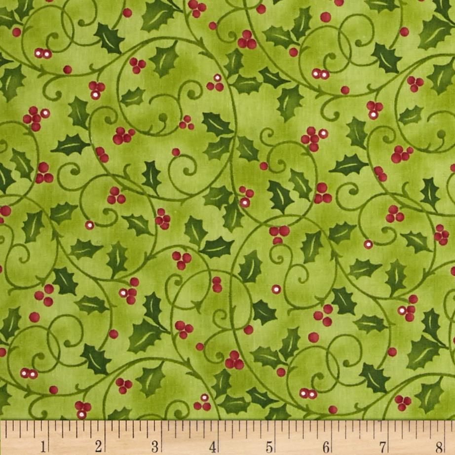 Santa's Here Holly Print Willow