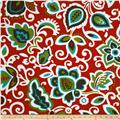 Premier Prints Indoor/Outdoor Faxon Rojo Red