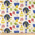 Cooking Italiano Veggies & Utensils White